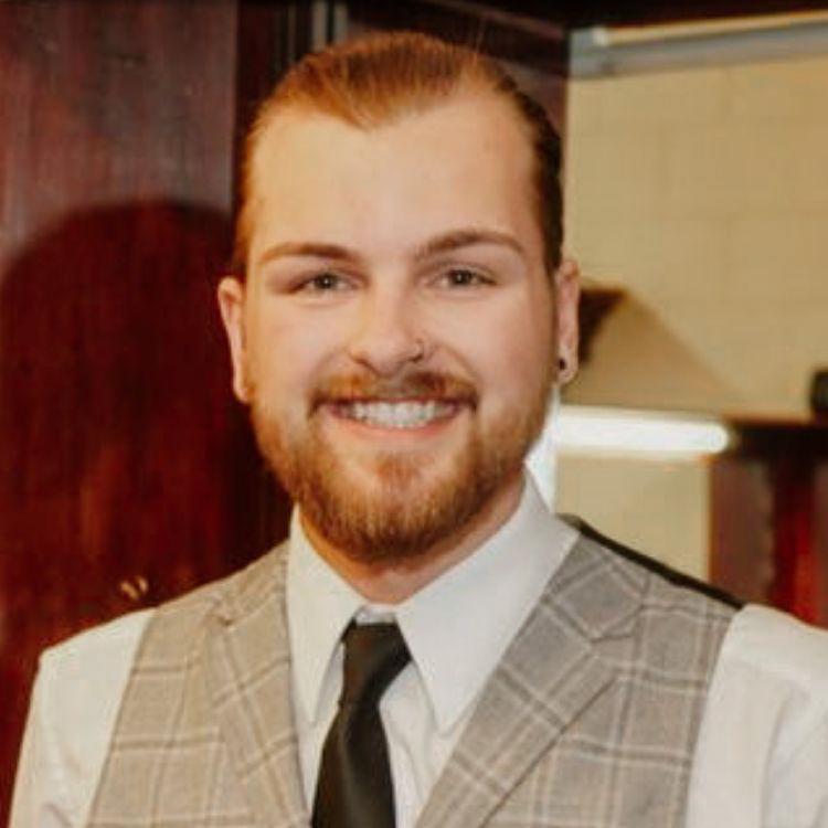 Headshot of Cody - bourbon barber saskatoon
